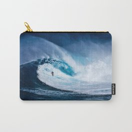 Wave Series Photograph No. 5 - Thirty Foot Roller Carry-All Pouch