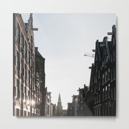 Amsterdam City Houses Fronts  Metal Print