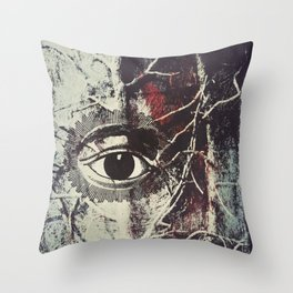 I'll be watching you Throw Pillow