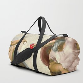 Sistine of Beer Pong Duffle Bag