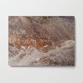 Owakudani Landscape in Hakone Japan Metal Print