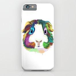 Splash Guinea Pig iPhone Case