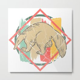 Anteater toothy sloth gift primeval forest Metal Print