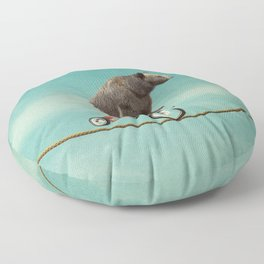 Balancing act Floor Pillow
