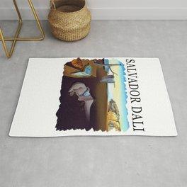 Salvador Dali The Persistence of Memory 1931 Artwork, Wall Art, Prints, Posters, Tshirts, Men, Women Rug