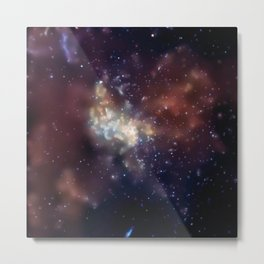 1832. The supermassive black hole at the center of our Galaxy. Metal Print