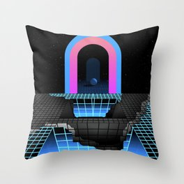 DÉTRUIT 1984 Throw Pillow