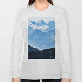 Great Mountains Landscape - The Peaks of The Alps #decor #society6 #buyart Long Sleeve T-shirt