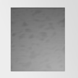 Smooth Sheet Metal Dull Ombre Texture Graphic Design Throw Blanket