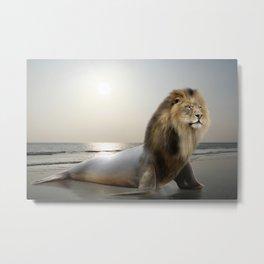 Sea . . . Lion Metal Print