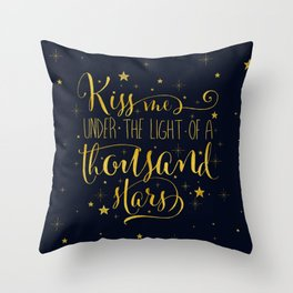 A Thousand Stars Throw Pillow