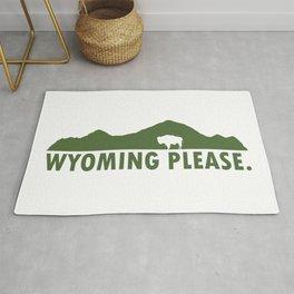 Wyoming Please Rug