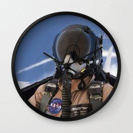 123. Photographer Carla Thomas on a Supersonic Flight Wall Clock