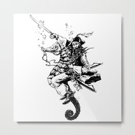 Filibuster Metal Print