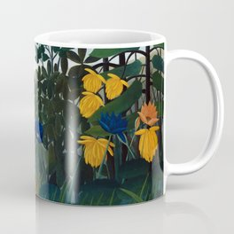 Henri Rousseau - The Repast of the Lion Coffee Mug