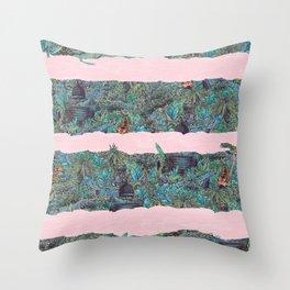Living Jungle Throw Pillow