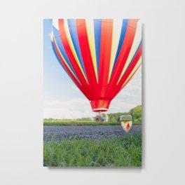 Relaxing Balloon Afternoon Metal Print
