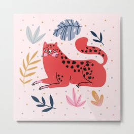 Wild cats Metal Print