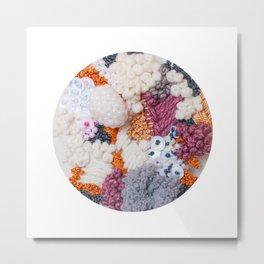 Lichen Cluster Metal Print