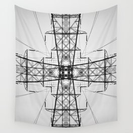 Tower Symmetry Wall Tapestry
