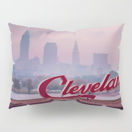 Homesick - Cleveland Skyline Pillow Sham