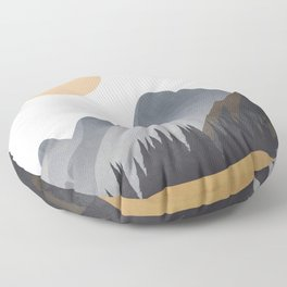 Minimalistic Landscape VI Floor Pillow