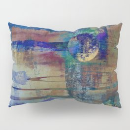 Night landscape Pillow Sham