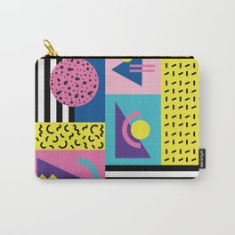 Memphis pattern 53 - 80s / 90s Retro Carry-All Pouch