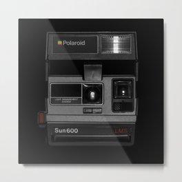 Instant camera Sun600 Metal Print