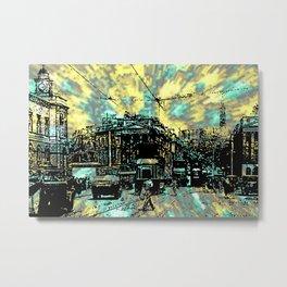 OLD EDINBURGH - 4 Metal Print