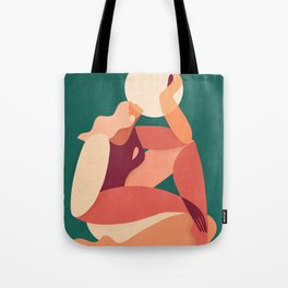 How the sun loves the moon Tote Bag