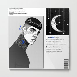 cres.c/ent Metal Print