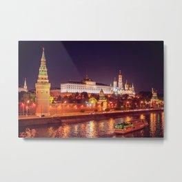 Kremlin in Moscow, Russia Metal Print