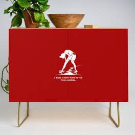Running from Zombies Credenza