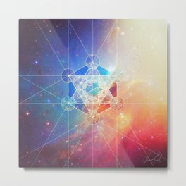 Box of the Universe Metal Print