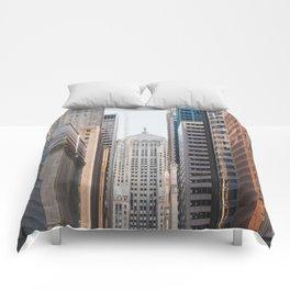 LaSalle Street Canyon Comforters