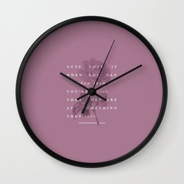 P + R Better Wall Clock