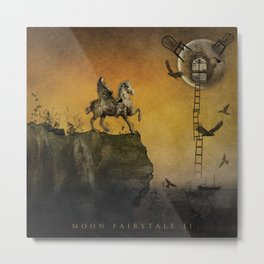 Moon Fairytale II Metal Print
