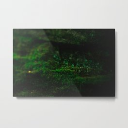 Deep Green Moss Metal Print