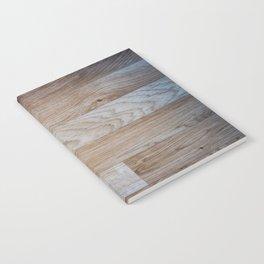 Light Wood Texture Notebook