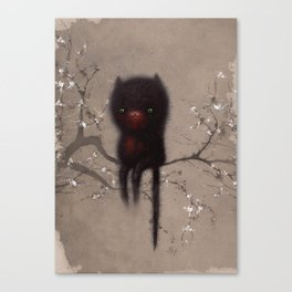 Bellamy and the Birds Canvas Print