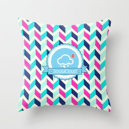 CoudPattern Throw Pillow