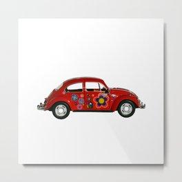 Punch Buggy Beetle Toy Car Metal Print
