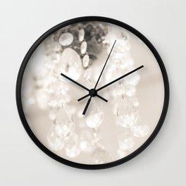 Crystals II Wall Clock