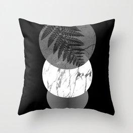 Elemental - dark side Throw Pillow