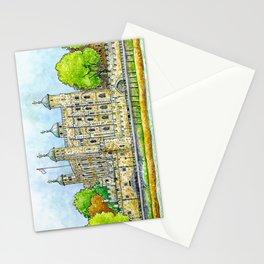 Tower of London Illustration   Hand Drawn Iconic Landmark Stationery Cards