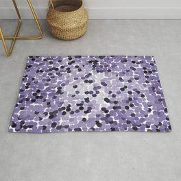 Purple Dot Mania Rug