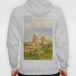 The Alcazar Segovia Spain Hoody