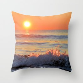 We Danced Like A Wave On The Ocean Throw Pillow