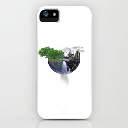 Our Divided World iPhone Case
